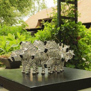 """""""Zebra's"""" van Marian Timmer"""