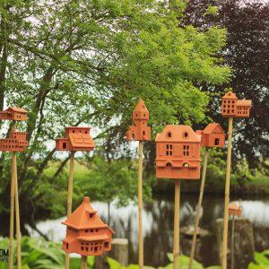 Insectenhuisjes van Bastiaan Meijer